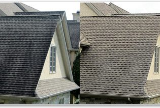 Orlando Roof Before and After Soft Wash
